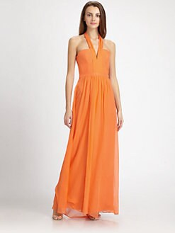 BCBGMAXAZRIA - Silk Starr Gown