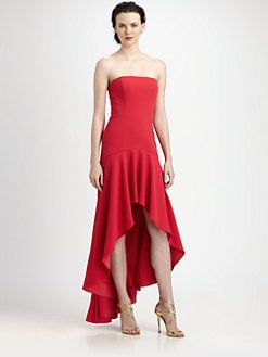 BCBGMAXAZRIA - Evangelina Hi-Lo Dress