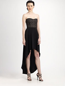 BCBGMAXAZRIA - Tess Strapless Bustier Dress