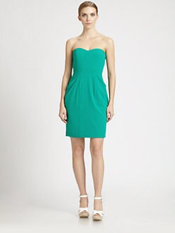 BCBGMAXAZRIA - Bustier Bodice Dress