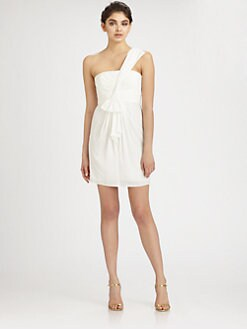BCBGMAXAZRIA - Palais One-Shoulder Dress