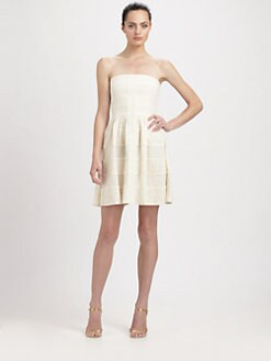 BCBGMAXAZRIA - Strapless Dorthea Dress