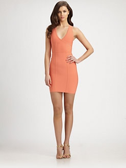 BCBGMAXAZRIA - Gemma Racerback Bandage Dress