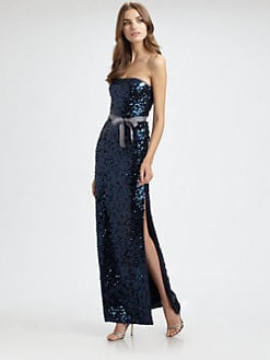 BCBGMAXAZRIA - Lela Sequined Gown