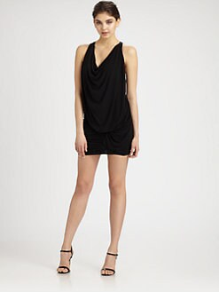 BCBGMAXAZRIA - Draped Jersey Dress