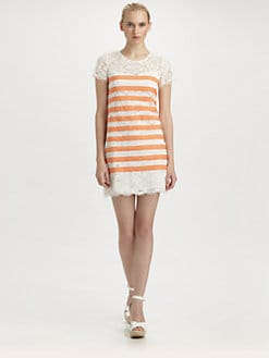 BCBGMAXAZRIA - Roxine Lace Dress