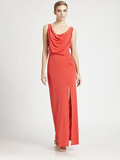 BCBGMAXAZRIA - Lena Draped Gown