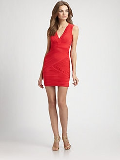 BCBGMAXAZRIA - Ruched Dress
