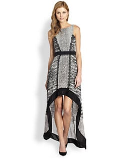 BCBGMAXAZRIA - Sienna Hi-Lo Dress