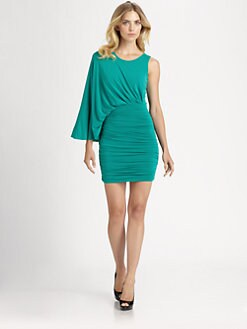 BCBGMAXAZRIA - Venus Asymmetrical Dress