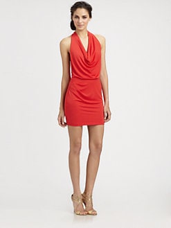 BCBGMAXAZRIA - Skye Halter Dress