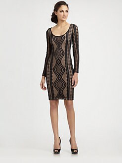 BCBGMAXAZRIA - Tanya Lace Dress