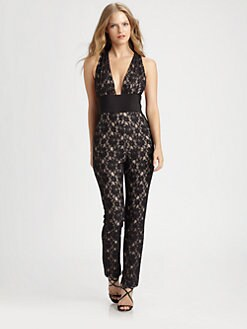 BCBGMAXAZRIA - Lace Jumpsuit