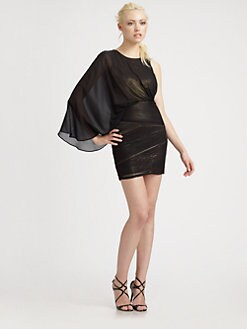 BCBGMAXAZRIA - Kina One-Shoulder Dress