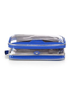 Anya Hindmarch - Patent Leather & Clear Plastic Travel Case