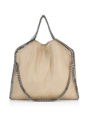 Shaggy Deer Falabella Fold-Over Small Tote