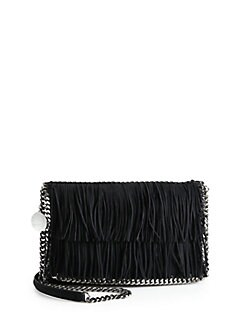 Stella McCartney - Fringe Flap Shoulder Bag