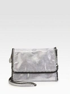 Stella McCartney - Medium Shiny Textured Crossbody