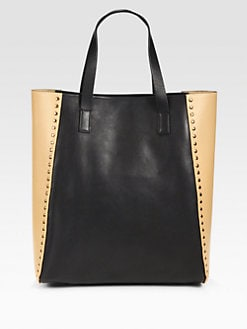 Marni - Studded Colorblock Shopper