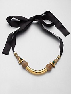 Marni - Mixed-Media Necklace