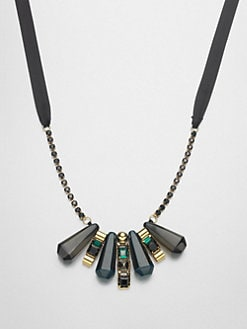 Marni - Mini Bib Necklace