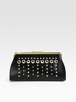 Marni - Embellished Frame Clutch