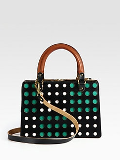 Marni - Perforated Top Handle Bag