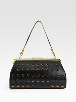 Marni - Perforated Shoulder Bag