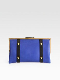Marni - Colorblock Frame Clutch