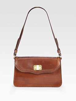 Saddlers Union - Small Leather Flap Bag
