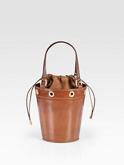 Saddlers Union - Mini Leather Bucket Bag