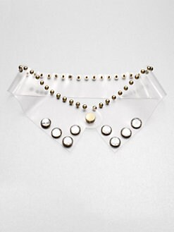 Marni - Studded Transparent Collar