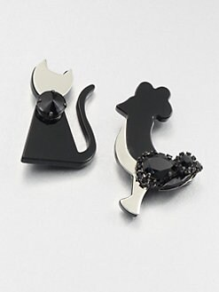 Marni - Resin & Glass Animal Brooch Set