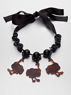 Marni - Animal Pendant Necklace