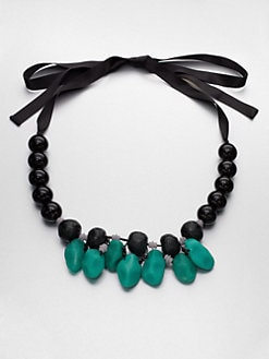 Marni - Beaded Resin Necklace