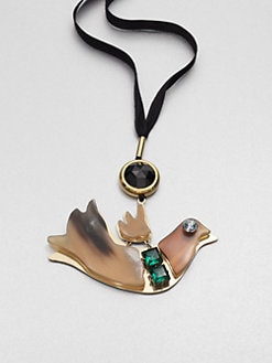 Marni - Bird Pendant Necklace