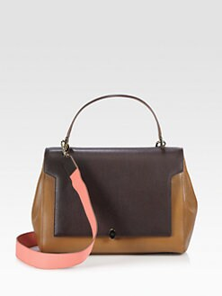 Anya Hindmarch - Bathurst Bow Colorblock Satchel