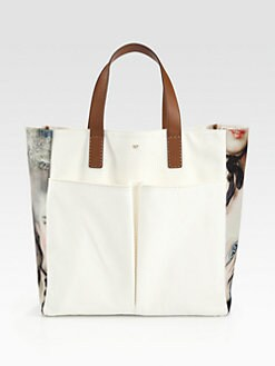 Anya Hindmarch - Nevis Lady Printed Canvas Tote