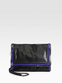 Stella McCartney - Medium Flap Faux Leather Shoulder Bag