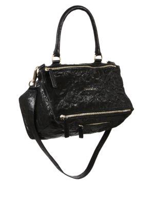 Medium Pandora Pepe Leather Crossbody Bag