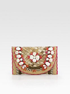 Anya Hindmarch - Ipanema Straw Clutch