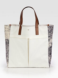 Anya Hindmarch - London Nevis Canvas Tote