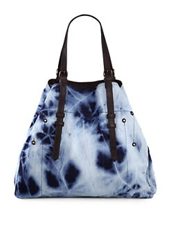 Jerome Dreyfuss - Acid Wash Large Denim Shopper