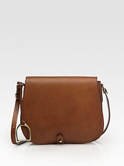 Ralph Lauren Collection - RL Medium Saddle Shoulder Bag