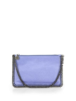 Stella McCartney - Shaggy Deer Falabella Convertible Clutch