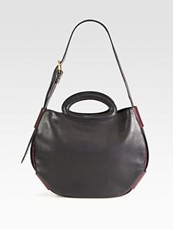 Marni - Small Leather Balloon Shoulder Bag