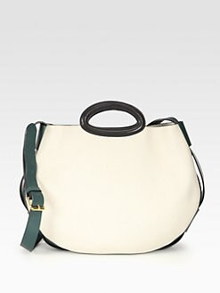 Marni - Large Leather Balloon Shoulder Bag