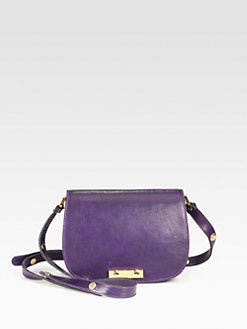 Marni - Small Leather Crossbody Bag