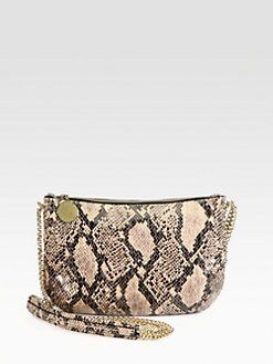 Stella McCartney - Faux Python Crossbody Bag
