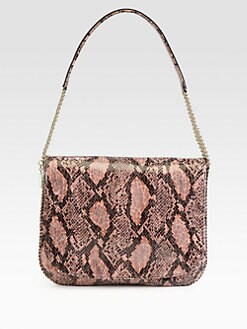 Stella McCartney - Faux Python Shoulder Bag